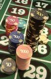 Jeu - casino Images libres de droits