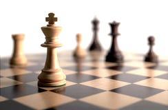 Jeu d'échecs Photo libre de droits