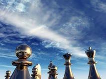 Jeu d'échecs illustration libre de droits