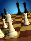 Jeu d'échecs Image stock