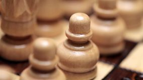 Jeu d'échecs tiré sur le glisseur de mouvement clips vidéos