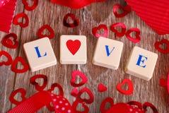 Jeu d'amour Image stock