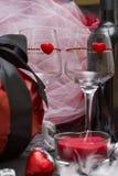 Jeu d'amour pour deux amants Image stock