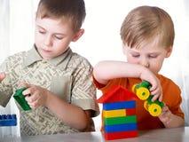 jeu d'enfant Photographie stock