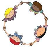 Jeu d'enfants Images libres de droits