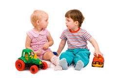 jeu d'enfants Photos libres de droits