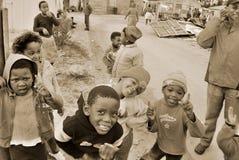 Jeu d'enfants en bas âge Photos libres de droits