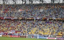 Jeu 2012 d'EURO de l'UEFA Allemagne contre le Danemark Photos stock