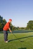 jeu d'homme de golf Image stock