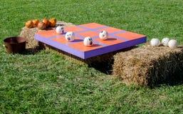 Jeu d'orteil de tac de tic de Halloween Photo libre de droits
