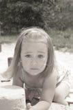 Jeu dans le bac à sable Photographie stock libre de droits