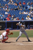 Jeu de base-ball Image libre de droits
