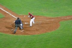 Jeu de base-ball du l'Etats-Unis-Venezuela Images libres de droits