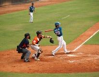 Jeu de base-ball professionnel Images libres de droits