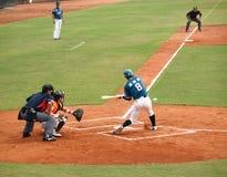 Jeu de base-ball professionnel Images stock