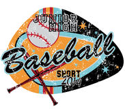 Jeu de baseball Photos libres de droits