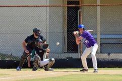 Jeu de baseball Images stock