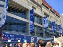 Jeu de baseball de Blue Jays Photo libre de droits