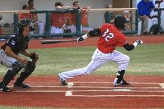 Jeu de baseball professionnel image libre de droits