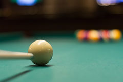 Jeu de billard prêt à casser 4 Photo stock