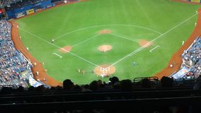 Jeu de Blue Jays de Canada Photos stock