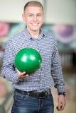 Jeu de bowling Photo stock