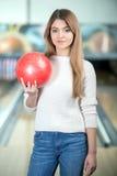 Jeu de bowling Photographie stock libre de droits