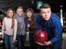 Jeu de bowling Image libre de droits