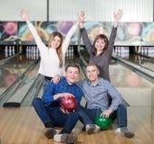 Jeu de bowling Photos stock