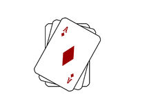 jeu de cartes Illustration Stock