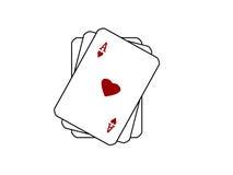 jeu de cartes Photo stock