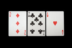 jeu de cartes Photo stock
