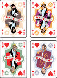 jeu de cartes Images libres de droits
