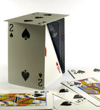 Jeu de cartes de jeu Photographie stock