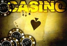 jeu de casino Photo stock