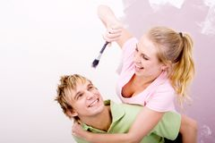 Jeu de couples Photo stock