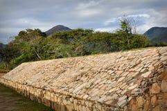 Jeu de cour antique de bille au Mexique Photo stock