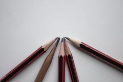 Jeu de crayon photo stock