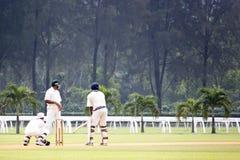 Jeu de cricket Images libres de droits