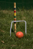 Jeu de croquet Photo libre de droits