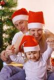 Jeu de famille Photo libre de droits