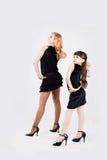 Fille et maman Photographie stock libre de droits
