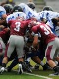 Jeu de football américain - palan de troupe photos libres de droits