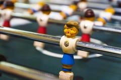 Jeu de football de table des sports des enfants Images libres de droits