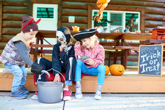 Jeu de Halloween Photos libres de droits