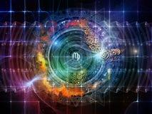 Jeu de la géométrie sacrée Images libres de droits