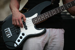 Jeu de la guitare Image libre de droits