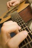 Jeu de la guitare Images stock