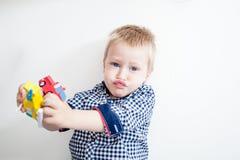 Jeu de Little Boy Photos stock
