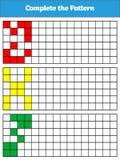 Jeu de logique d'éducation pour les enfants préscolaires Illustration de vecteur Image stock